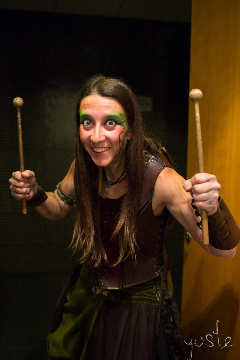 Lurte Almogávares: Marieta | Percusión | Sala Multiusos, Zaragoza | 2018