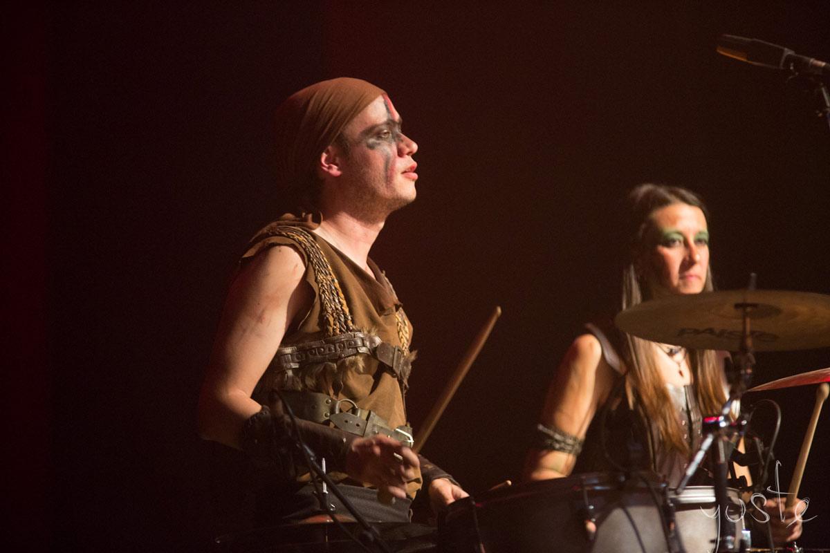 Lurte Almogávares: Marieta y Rubén | Percusión | Sala Multiusos, Zaragoza | 2018